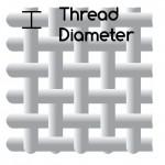 mesh-001-thread diameter