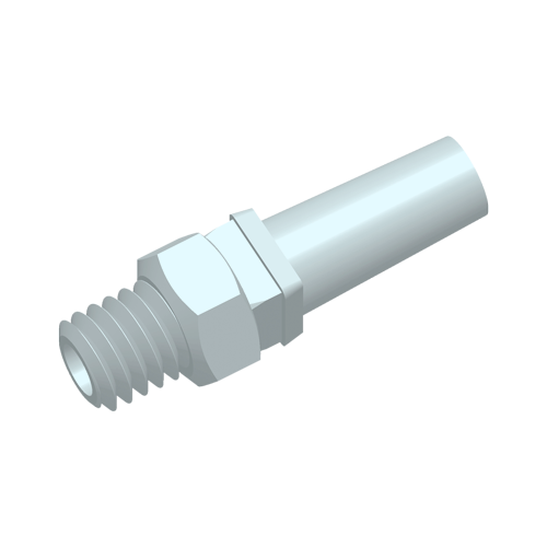 Threaded adaptor to Slip Male Luer